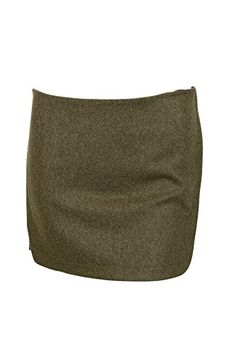 Vanessa Bruno Womens Militaire Green Bamako Wool Blend Mini Skirt 36 >>> Be sure to check out this awesome product.