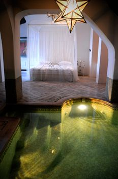 The Rock Suite with private pool is only at the Hotel Bellevue Syrene Cool Swimming Pools, Cool Pools, Honeymoon Destinations, Honeymoon Ideas, Bellevue Syrene, Honeymoon Suite, Blue Pool, Sorrento Italy, At The Hotel