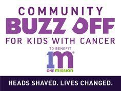 2020 COMMUNITY BUZZ OFF Change The World, Cancer, Community, Life