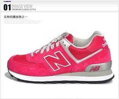 Zapatos retro zapatillas WL574SAN 2013 nuevas mujeres auténticas