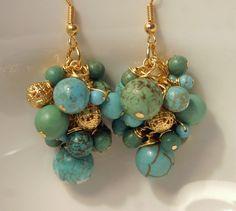 Statement earrings.. love them! $26.00 #jewelry #earrings #fashion