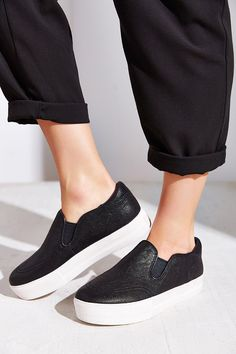 Urban Outfitters Leather Slip Ons