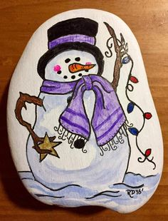 Image result for holiday rock art