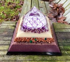 Your place to buy and sell all things handmade Resin Crafts, Jewelry Crafts, Coaster, Energy Pyramid, Dark Energy, Seed Of Life, Minerals And Gemstones, Healing Stones, Amethyst