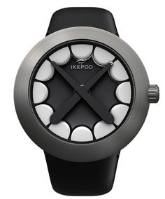 This special-edition Ikepod Horizon Watch was designed by Mark Newson, along with graffiti artist turned painter and sculptor KAWS. This analog timepiece is definitely cool looking, and it won't take you long to figure out how to tell the time.