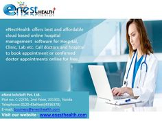 Today healthcare is growing rapidly and in turn it is experiencing high growth rate in terms of services provided. eNesthealth is an integrated Hospital Management Software that assembles latest technologies and all the comprehensive modules. This software makes the entire process automated by utmost ease.