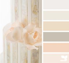 sweet tones color palette from Design Seeds Colour Pallette, Color Palate, Colour Schemes, Color Combos, Pastel Colour Palette, Spring Color Palette, Neutral Palette, Design Seeds, Decoration Inspiration