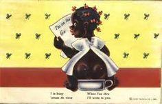 Vintage Racist Postcard