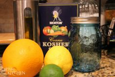 Homemade Citrus Salt Recipe