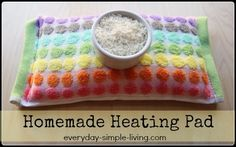 Want to make a super cheap and super amazing heating pad for under $2?  I'll show you how!