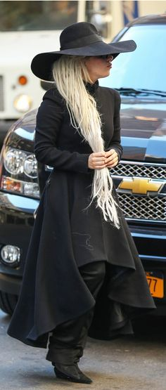 Lady Gaga in New York | The Wicked Witch of the East has landed...