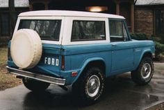 old ford bronco. Dream Car