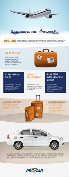 Confira algumas dicas de como se manter seguro em aeroportos