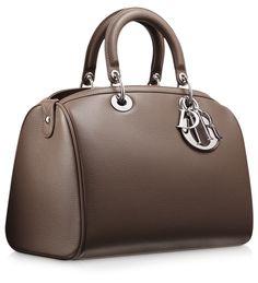 DIOR GRANVILLE - Royal blue leather Dior Granville bag