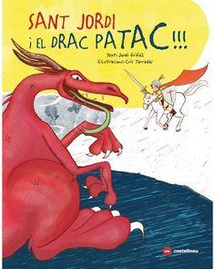 """""""San Jordi i el drac Patac! Editorial Castellnou a 8 anys) Tapas, Conte, Disney Characters, Fictional Characters, Comic Books, Comics, Disney Princess, Editorial, Products"""
