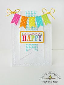 A Doodlebug Washi Tape Banner card by Stephanie Buice.  :)