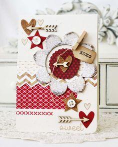 XOXO...Handmade Card