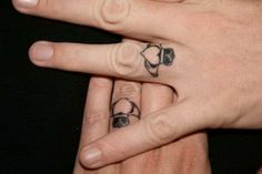 Love the idea of wedding rings but hate to wear them? Enter the wonderful world of wedding ring tattoos! A truly great way to show how insanely committed the two of you are.