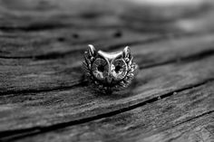 The Classic Owl Ring on Etsy, $64.00