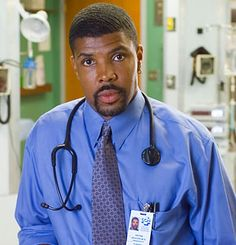 """Eriq La Salle was Dr. Peter Benton on """"ER"""",  He was the surgical resident, so arrogant - and now that I see surgeons on a regular basis I can see how accurate his portrayal was!"""