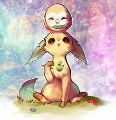 Pokémon Brindibou et Phylali