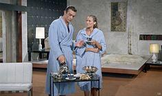 midcenturymodernfreak:  1962Dr. No | Starring Sean Connery & Ursula Andress The set was created by British production designer Ken Adam...