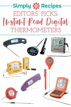 Editors' Picks: Digital Thermometers! What's the best instant-read digital thermometer? What's a solid budget option? Here are the digital thermometers we recommend, at all price points! #digitalthermometers #editorspicks #simplyrecipes Captain America Birthday Cake, Captain America Cake, Cookout Menu, How To Temper Chocolate, Making Yogurt, Easy Delicious Recipes, Easy Recipes, Tasty, Summer Grilling Recipes