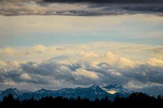 Fisher Peak from my balcony - Calgary, Alberta, Canada