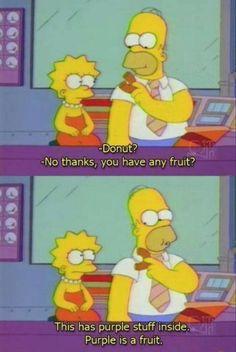 Bart On The Road - Season 7.