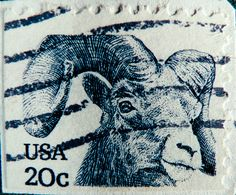 USA stamps 20c mouflon united states of america amerika postage porto Stamp USA United States of America