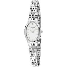 Accurist - Ladies Stainless Steel Bracelet Watch - LB1338W  RRP: £60.00 Online price: £54.00 You Save: £6.00 (10%)  www.lingraywatches.co.uk