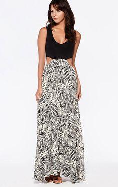 a90de0a7782 L Space Ivory Coast Maxi Woman Dresses