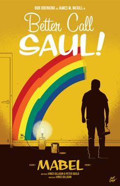 Better Call Saul Season 3 Episode 1 poster by Matt Talbot