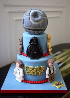 LEGO Star Wars Cake cakepins.com