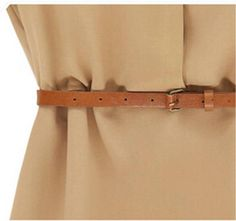 Casual Cap Sleeve Mini Dress With Belt