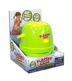 Little Kids Fubbles Bubble Machine GreenYellow >>> Check this awesome product by going to the link at the image. Note:It is Affiliate Link to Amazon.