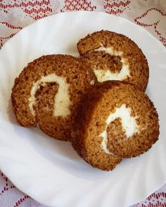 This no all / Disznóól - KonyhaMalacka disznóságai: Sütőtökös rolád Muffin, Breakfast, Food, Meal, Eten, Meals, Muffins, Morning Breakfast