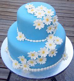 what a cute idea for a birthday cake Birthday Cake Cookies, Vanilla Birthday Cake Recipe, Funny Birthday Cakes, Homemade Birthday Cakes, Easy Cake Decorating, Birthday Cake Decorating, Cake Decorating Techniques, Elegant Birthday Cakes, Spring Cake