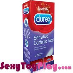 EXPOSITOR 27 UDS DUREX SENSITIVO CONTACTO TOTAL 6 UDS 145,29€