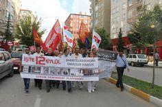 12 Eylül Faşist Darbesini protesto