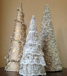 Gyönörű mini karácsonyfák - Tudatosan Élők