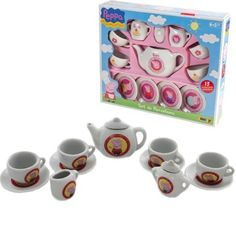 PEPPA PIG TEA SET PARTY KIDS SAUCERS POT CUPS PORCELAIN PRETEND 13PC ROLE PLAY BARGAINS-GALORE http://www.amazon.co.uk/dp/B00O8Y6A2Q/ref=cm_sw_r_pi_dp_-TTLub12EX6M0
