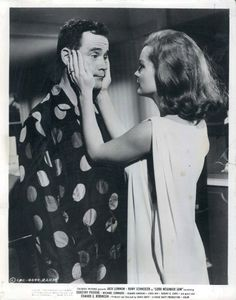 """ Jack Lemmon and Romy Schneider in Good Neighbor Sam, 1964 """