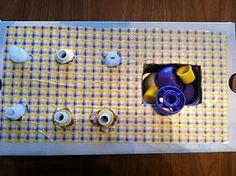 Open/close lids box