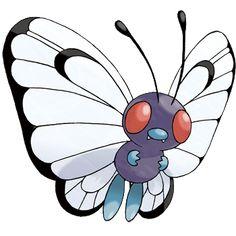 Butterfree Tipo Inseto e voador