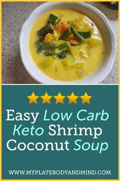 Looking for a fat burning easy low carb shrimp soup? Look no more this simple yet delicious keto coconut soup will have your taste buds going crazy. And the best part is that you can make it in only 30 minutes. Make this recipe on a rainy day for comfort. You can eat this for Lunch or Dinner even breakfast #soups #lowcarbrecipes #ketorecipes Clean Eating Plans, Clean Eating Recipes, Healthy Eating, Low Carb Keto, Low Carb Recipes, Diet Recipes, Shrimp Soup, Coconut Soup, Weight Loss Meal Plan