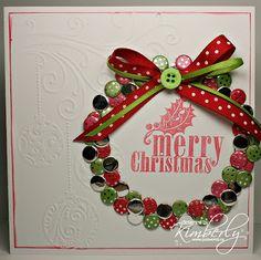 Kimberly | Just Wordz | Candi Wreath | Craftwork Cards Candi