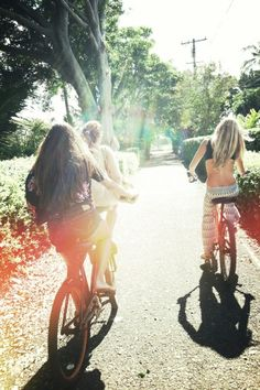 Bike riding on the weekends