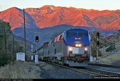 RailPictures.Net Photo: AMTK 82 Amtrak GE P42DC at Rio, Utah by James Belmont