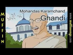 ▶ Muffin Stories - Mahatma Gandhi   Children's Tales, Stories and Fables - YouTube